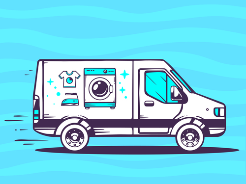 Free Laundry pickup and delivery